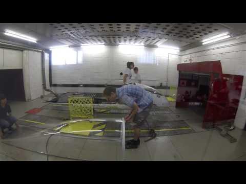 Testing at Jaguar Land Rover's Environmental Test Chamber