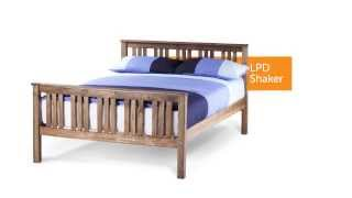 Lpd Furniture Shaker Bed Frame