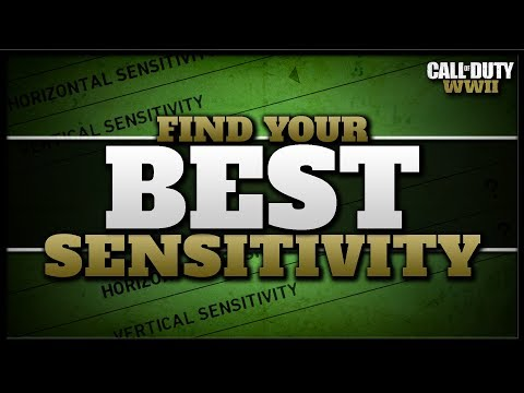 How to Find Your Best Sensitivity in CoD WW2!
