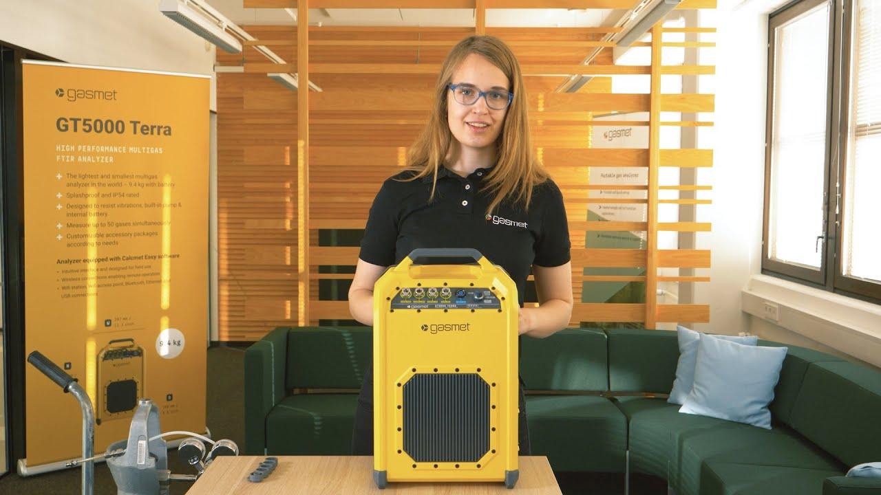 How to Use GT5000 Terra gas analyzer