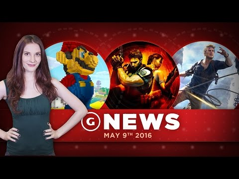 """Uncharted 4 a """"Technical Powerhouse"""" & Super Mario Coming To Minecraft! - GS Daily News"""