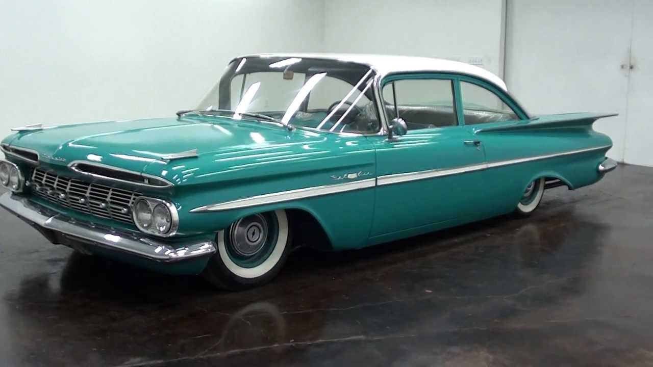 1959 chevrolet biscayne air ride - youtube