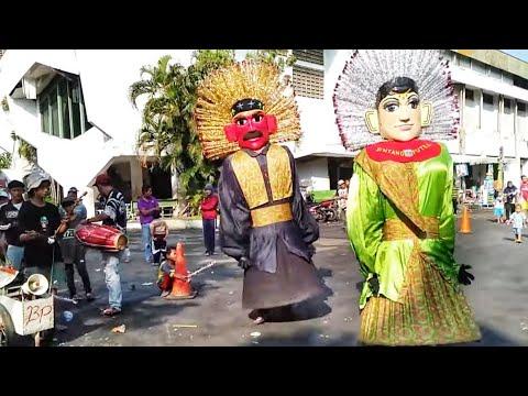 Ondel Ondel Sanggar Bintang Putra || Ondel2 Ngibing DiPatriot Bekasi ~