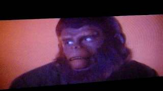 Original ending to Conquest of the Planet of the Apes