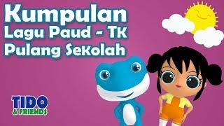 Kumpulan Lagu Anak Paud TK Pulang Sekolah Terbaru Bersama Tido LOL 4K