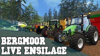 FS 15 ensilage sur Bergmoor / Beau simulator 15 /6h de live