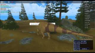 dino video on roblox also on the lap top