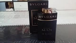 Bvlgari Man In Black Fragrance review (EDP)