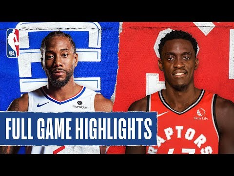 CLIPPERS at RAPTORS   FULL GAME HIGHLIGHTS   December 11, 2019