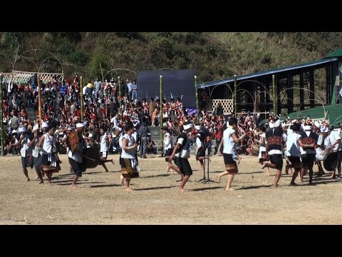 Survival dance performed by Manipuri Nagas