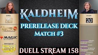 MTG Kaldheim Duell deutsch #3 |  Prerelease Pack | Magic the Gathering | Trader Tutorial Duel Arena