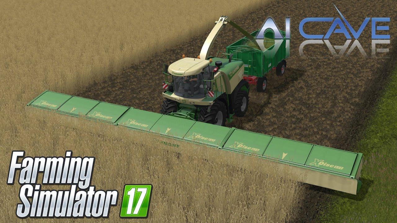 Farming Simulator 2017 Mods - Krone XDisc 1860 - Larg Harvester Header