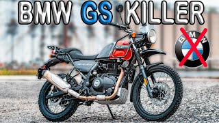 Why The Royal Enfield Himalayan is the New BMW GS -- The Best Value for Money Motorcycle 2020?