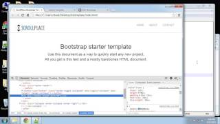 Learn How to Create an Animated Bootstrap Template with HTML - Part 3 Mp3