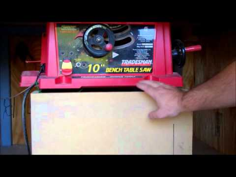 Table Saw Modifications Part 1 Youtube