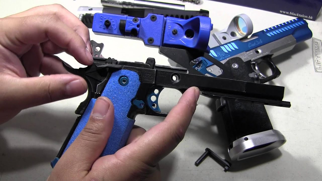 14mm CCW for Tokyo Marui G17 G18C Black Airsoft Parts 5KU SPARC-L Compensator