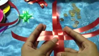 Repeat youtube video วิธีพับเหรียญโปรยทานรูปดาว