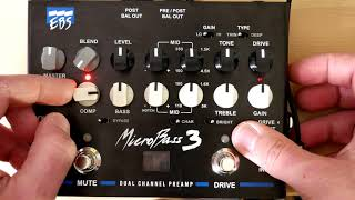 STRAIGHT INTO THE DAW: EBS MicroBass 3