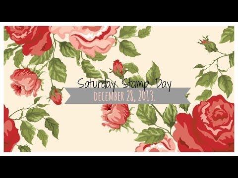 Saturday Stamp Day - Happy Birthday