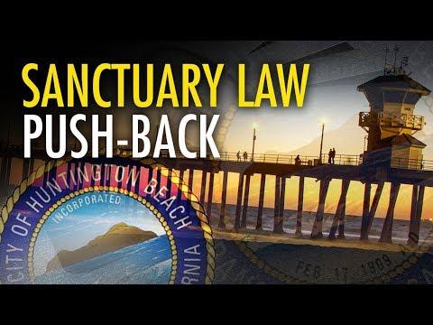 Huntington Beach votes to sue California over sanctuary city laws | Amanda Head
