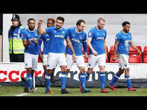 Highlights: Walsall 0-1 Portsmouth