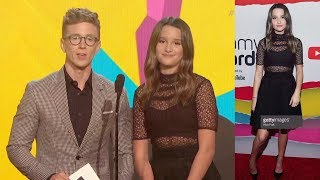Annie LeBlanc PRESENTING At The 2018 STREAMY AWARDS! (FULL CLIP)