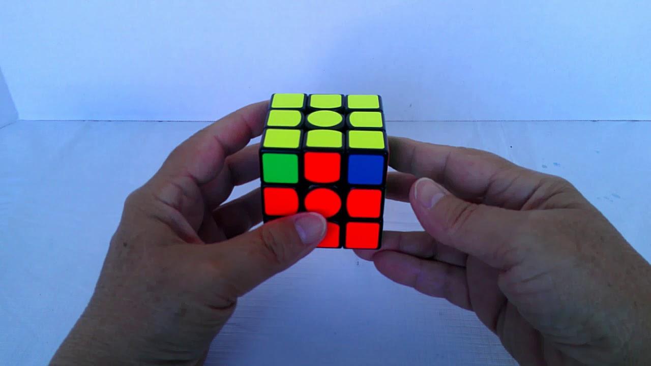 Rubik's Cube -- 2-Look PLL: Swap Adjacent Corners (3x3)