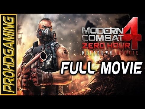 Modern Combat 4 Zero Hour I Android I Full Movie I Gameplay Walkthrough [HD]