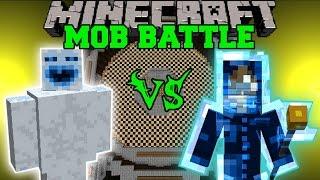 ABOMINABLE SNOWMAN VS LIGHTNING SPIRIT - MInecraft Mob Battles - Mods