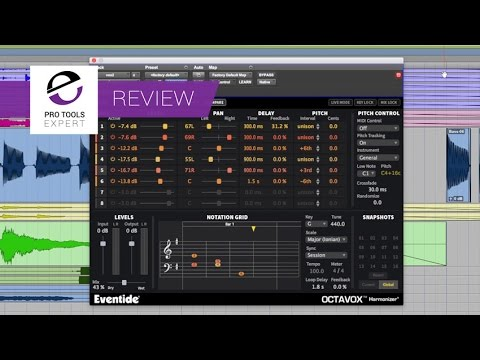 Review - Octavox Harmonizer By Eventide