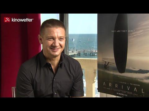 Interview Jeremy Renner ARRIVAL
