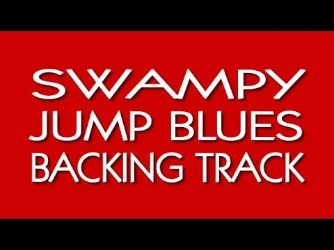 Duke Robillard SWING BLUES backing track in G