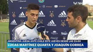 Entrevista a Lucas Martínez Quarta