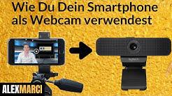 Wie Du Dein Smartphone als Webcam verwendest (iPhone oder Android Handy als Webcam am PC nutzen)