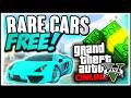 GTA 5 Rare Cars : FREE RARE CARS 1.37 - Secret Storable Vehicles (GTA 5 Online Rare Cars Guide)