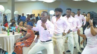 Congolese Wedding Entrance Dance (Best Choreography)