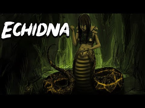Echidna The Mother Of All Monster Of Greek Mythology Mythological Bestiary See U In History Youtube