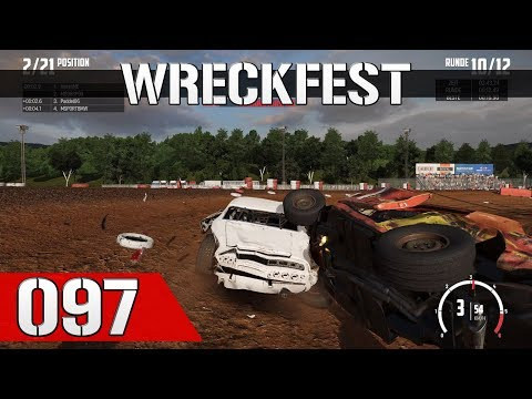 Let's Play Wreckfest #097 - Bloomfield Speedway Achterform-Finale