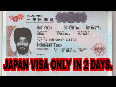 How To Apply Japan Visa From India.Documentation And Rules Required For Tourist Visa. 🇯🇵