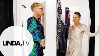 Jurken shoppen || Afl. 2 De grote Belinda en José show || LINDA.tv