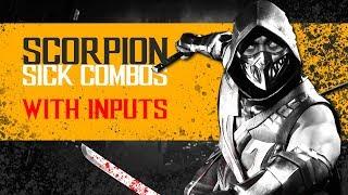 MK11 - Scorpion Sick Combos - INPUTS