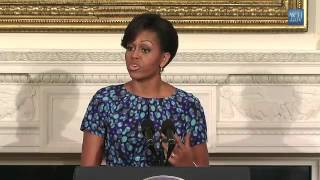First Lady Michelle Obama and Dr. Jill Biden Address National Governors Association