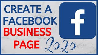 How To Create A Facebook Business Page | Full Setup 2020