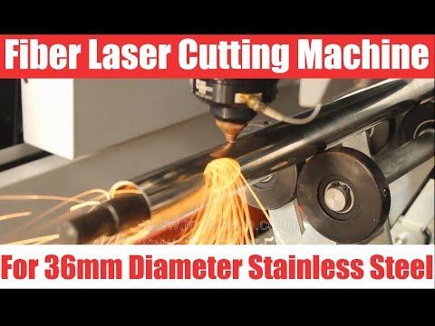 MORN Fiber Laser Cutting Machine For 36mm Diameter Stainless Steel Tube