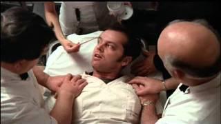 Electroconvulsive therapy scene