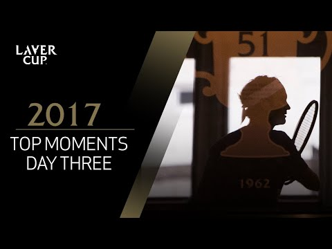Top 5 moments from the final day | Laver Cup 2017