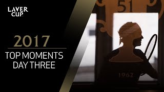 Top 5 moments from the final day   Laver Cup 2017