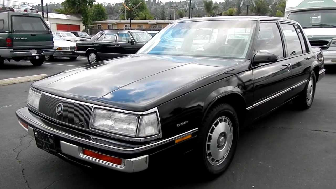 1987 Buick Electra T Type Sports Sedan 3800 V6 Luxury