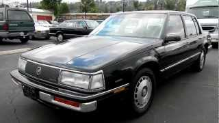 1987 Buick Electra T-Type Sports Sedan 3800 V6 Luxury Touring Loaded