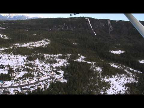 Flying out of Lax Kw'alaams (Port Simpson) British Columbia [HD] 1080p